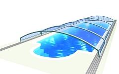 NÍZKE  bazénové prestrešenia