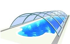 STREDNE VYSOKÉ bazénové prestrešenia